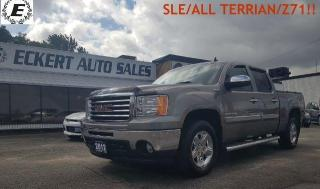 Used 2012 GMC Sierra 1500 SLE/ALL TERRAIN/Z71/HARD TONNEAU COVER!! for sale in Barrie, ON