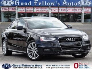Used 2016 Audi A4 SLINE, AWD, LEATHER SEATS,POWER SEATS, NAVIGATION for sale in Toronto, ON
