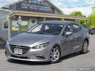 Used 2015 Mazda MAZDA3 GX, BLUETOOTH, USB PORT for sale in Orillia, ON