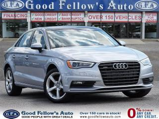 Used 2016 Audi A3 AWD, LEATHER SEATS, POWER SEATS, POWER SUNROOF, HE for sale in Toronto, ON