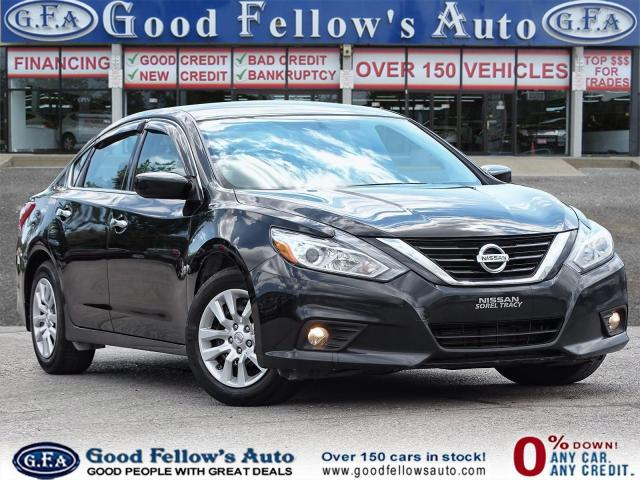 2018 Nissan Altima POWER SEATS, HEATED SEATS, REARVIEW CAMERA