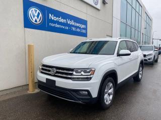 Used 2018 Volkswagen Atlas 3.6L COMOFRTLINE AWD - LEATHER / CERTIFIED for sale in Edmonton, AB