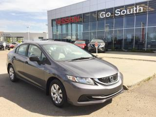 Used 2014 Honda Civic Sedan LX, SEDAN, CLOTH for sale in Edmonton, AB