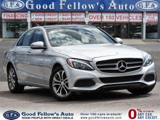 Used 2016 Mercedes-Benz C-Class C300 4MATIC, 16V TURBO DOHC I4, PAN ROOF, NAVIGATION for sale in Toronto, ON