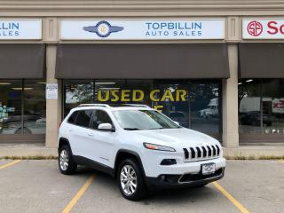 Used 2014 Jeep Cherokee Limited, NAVI, Pano Roof, Active Cruise for sale in Vaughan, ON