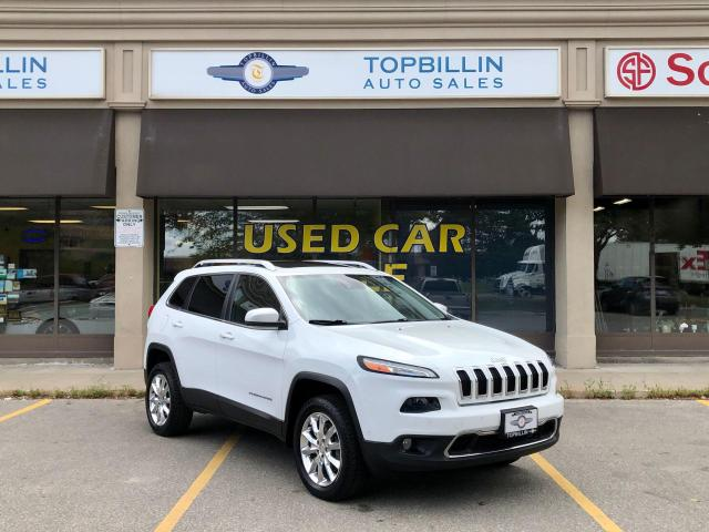 2014 Jeep Cherokee Limited, NAVI, Pano Roof, Active Cruise