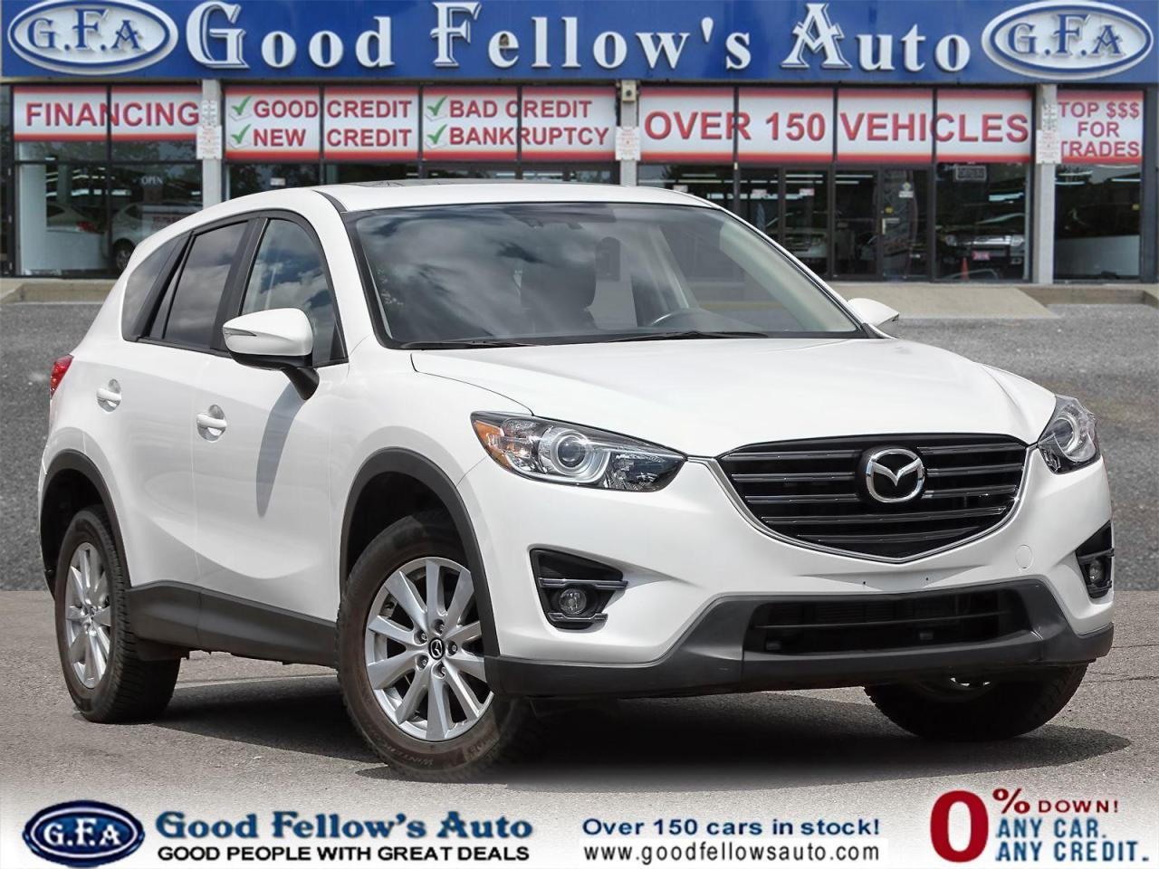used 2016 mazda cx-5 gs model, leather seats, sunroof, skyactiv, navi for sale in toronto, ontario carpages.ca