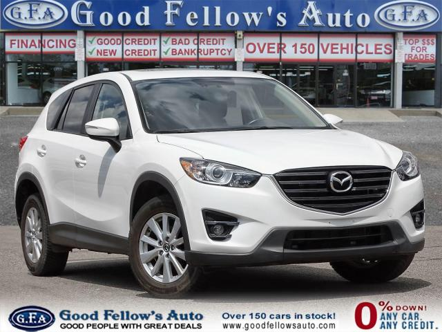 2016 Mazda CX-5 GS MODEL, LEATHER SEATS, SUNROOF, SKYACTIV, NAVI
