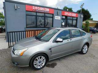 Used 2008 Ford Focus SES | Leather | Heated Seats | Sunroof for sale in St. Thomas, ON