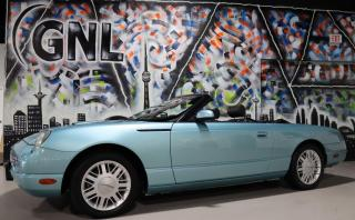 Used 2002 Ford Thunderbird RARE COLOR MATCH HARD TOP & BLACK CLOTH SOFT TOPS for sale in Concord, ON