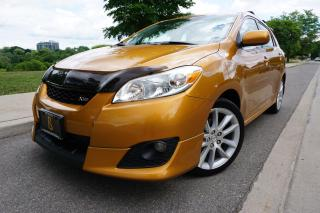 Used 2009 Toyota Matrix XRS / 5SPD MANUAL / NO ACCIDENTS / LOW KM'S for sale in Etobicoke, ON