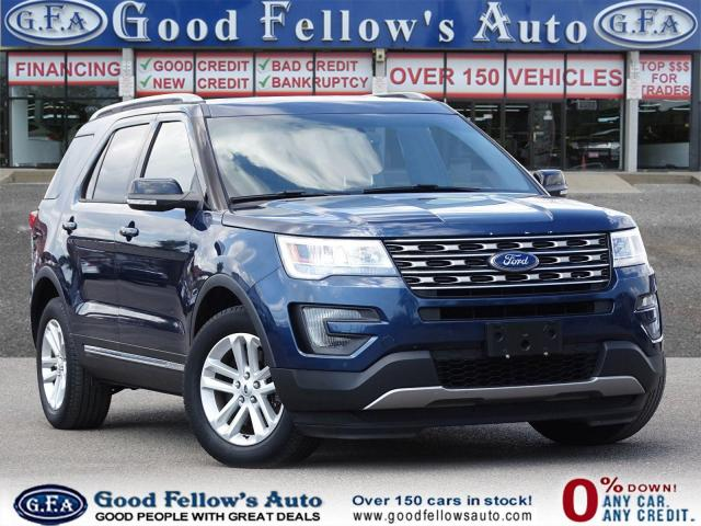 2016 Ford Explorer XLT MODEL, 7 PASSENGER, LEATHER &POWER SEATS, 2.3L