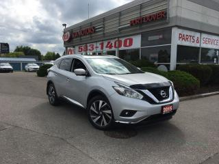 Used 2015 Nissan Murano Platinum for sale in Port Dover, ON
