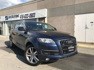 Used 2013 Audi Q7 3.0L Premium-Navi-Camera-7 pass for sale in Toronto, ON