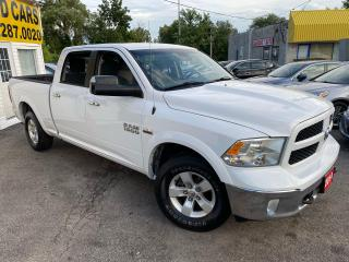 Used 2014 RAM 1500 OUTDOORSMAN/ CREW CAB/ 4X4/ 6 PASS/ TOW PKG/ TINTS for sale in Scarborough, ON