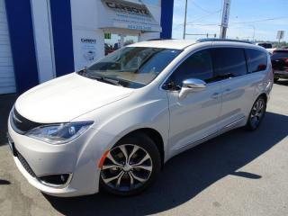 Used 2017 Chrysler Pacifica Limited, Tech Pkg, Nav, DVD's, 360 Camera, 8 Pass for sale in Langley, BC