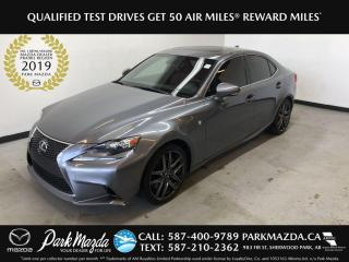 Used 2016 Lexus IS 350 350 AWD for sale in Sherwood Park, AB