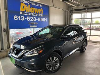 Used 2018 Nissan Murano Loaded W/ Leather Nav, Sunroof for sale in Nepean, ON