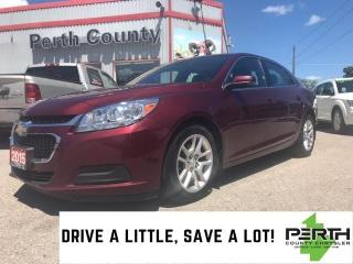 Used 2015 Chevrolet Malibu LT | Leather Trimmed Seats | Sunroof | Remote Star for sale in Mitchell, ON