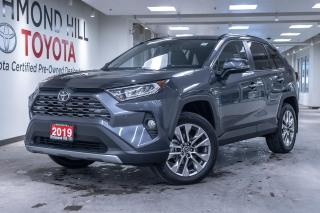 Used 2019 Toyota RAV4 4DR AWD LIMITED for sale in Richmond Hill, ON