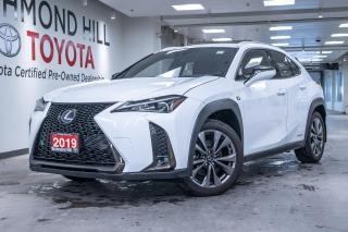 Used 2019 Lexus UX 4DR SUV 250H CVT for sale in Richmond Hill, ON