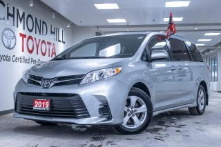Used 2019 Toyota Sienna 5DR LE 8 Pass FWD for sale in Richmond Hill, ON