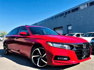 Used 2018 Honda Accord Sedan SPORT|SUNROOF|HEATED SEATS|LANE WATCH|ADAPTIVE CRUISE! for sale in Brampton, ON
