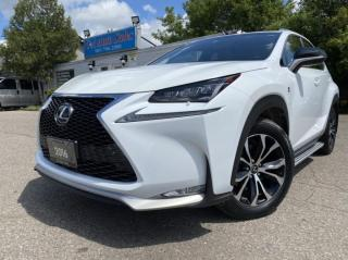 Used 2016 Lexus NX 200t AWD 4dr F SPORT PREMIUM *RED INTERIOR NON ACCIDENT for sale in Brampton, ON
