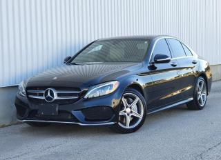 Used 2015 Mercedes-Benz C-Class C300 4MATIC|AMG PKG|ACCIDENT FREE for sale in Mississauga, ON