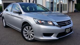 Used 2013 Honda Accord LX Sedan CVT - BACK-UP CAMERA! ALLOYS! HEATED SEATS! for sale in Kitchener, ON