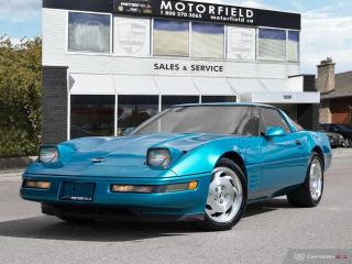 Used 1994 Chevrolet Corvette C4 *Accident Free, Targa Top, Great Shape* for sale in Scarborough, ON