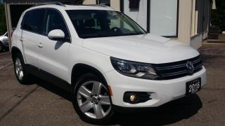 Used 2016 Volkswagen Tiguan COMFORTLINE SPORT PKG - LEATHER! BACK-UP CAM! PANO ROOF! CAR PLAY! for sale in Kitchener, ON