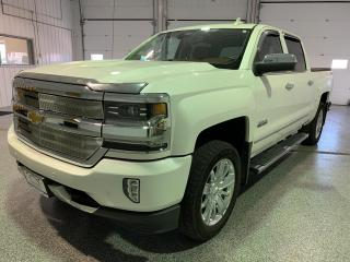 Used 2017 Chevrolet Silverado 1500 High Country Crew Cab Short Box 4WD * Buy Online * Home Delivery for sale in Brandon, MB