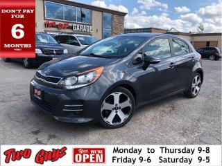 Used 2016 Kia Rio SX | Nav | Leather | Sunroof | Auto | Alloys | for sale in St Catharines, ON