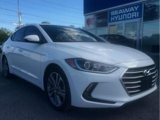 Used 2017 Hyundai Elantra 4dr Sdn Auto GLS - Local Trade - Sunroof for sale in Cornwall, ON