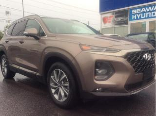 Used 2020 Hyundai Santa Fe 2.0T Luxury AWD - Local Trade - 8400 KM's! for sale in Cornwall, ON