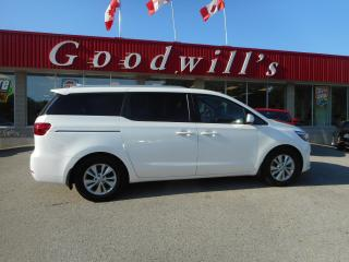 Used 2018 Kia Sedona LX! CLEAN CARFAX! CARPLAY! BACKUP CAM! B/TOOTH! for sale in Aylmer, ON
