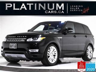 Used 2016 Land Rover Range Rover Sport HSE, AWD, NAV, PANO, CAM, HEATED STEERING WHEEL for sale in Toronto, ON