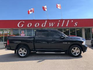 Used 2010 Dodge Ram 1500 SPORT! HEATED LEATHER! NAV! for sale in Aylmer, ON