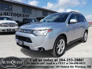 Used 2014 Mitsubishi Outlander 4WD ES 2.4L 4 cyl for sale in Winnipeg, MB
