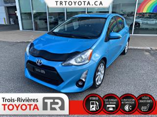 Used 2016 Toyota Prius c Hayon 5 portes Technologie for sale in Trois-Rivières, QC