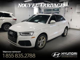 Used 2016 Audi Q3 TECHNIK QUATTRO + GARANTIE + TOIT PANO + for sale in Drummondville, QC