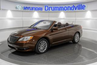 Used 2013 Chrysler 200 TOURING + GARANTIE + CONVERTIBLE + MAGS for sale in Drummondville, QC