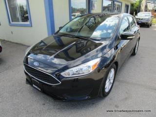Used 2016 Ford Focus GAS SAVING SE EDITION 5 PASSENGER 2.0L - DOHC.. HEATED SEATS.. HEATED STEERING WHEEL.. FLEX FUEL.. BLUETOOTH SYSTEM.. BACK-UP CAMERA.. for sale in Bradford, ON