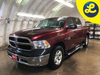 Used 2017 RAM 1500 SXT CREW CAB 4X4 *  Hemi * 6 Passenger * Chrome Side Steps *  Tonneau Cover * Line-X Sprayed * Tow/Haul Mode with Trailer Brake Control *  Cruise Cont for sale in Cambridge, ON
