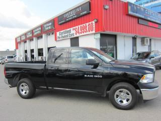 Used 2012 RAM 1500 ST $15,995+HST+LIC FEE / CLEAN CARFAX / CERTIFIED / 4.7L V8 for sale in North York, ON