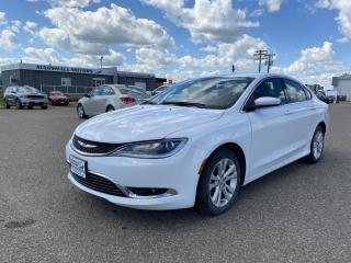 Used 2015 Chrysler 200 4dr Sdn Limited FWD *NAV* *Heated Seats/Wheel* for sale in Brandon, MB