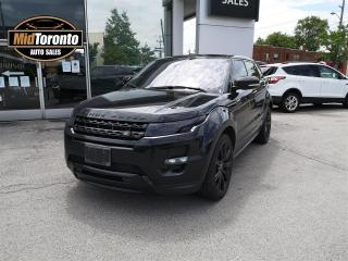 Used 2013 Land Rover Evoque Dynamic Premium | Special Edition | Excellent Condition | Stunning Eye Appeal for sale in North York, ON