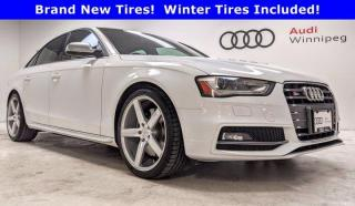 Used 2014 Audi S4 Technik w/Sport Differential *Local Trade* for sale in Winnipeg, MB
