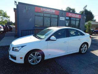 Used 2015 Chevrolet Cruze 2LT RS | Sunroof | Bluetooth | Alloy Wheels for sale in St. Thomas, ON